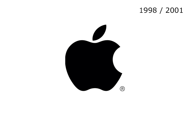 Apple Logo 1998 - 2001
