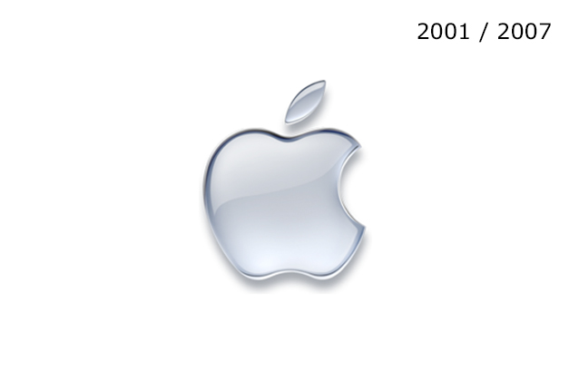 Apple Logosu 2001 / 2007