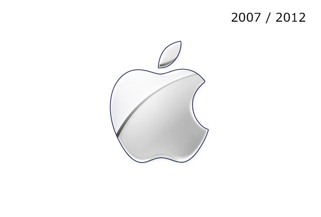 Apple Logo 2007 / 2012