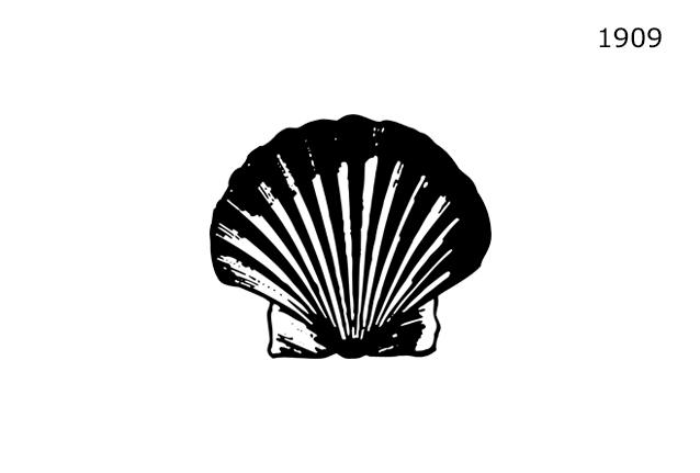 Shell Markasının 1909 Yılında Kullanmakta Olduğu Logo Tasarımı