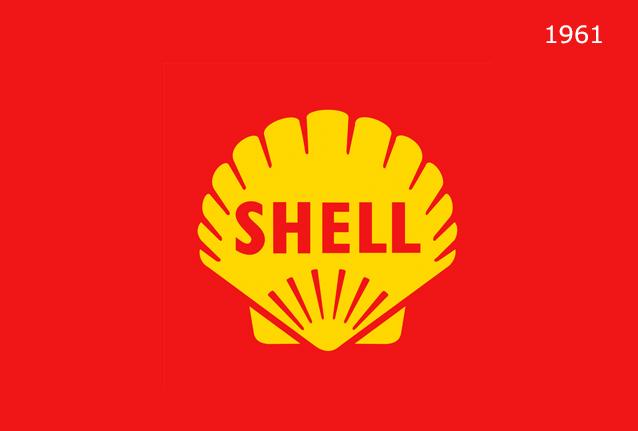 Shell Markasının 1961 Yılında Logosundaki Değişiklikler