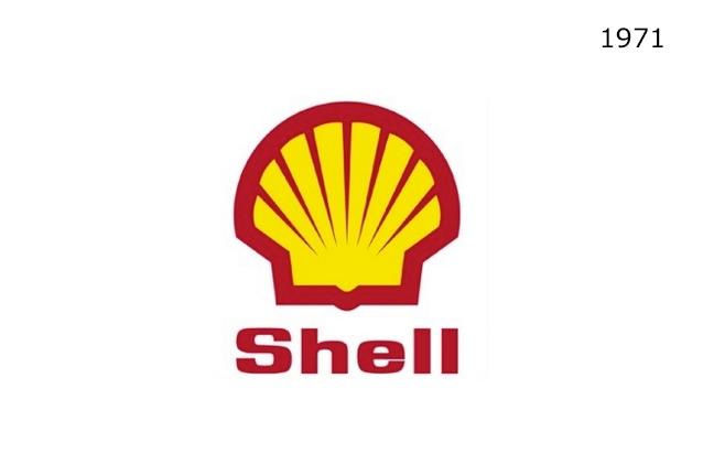 Shell Markasının 1971 Yılında Kullanmakta Olduğu Logo Tasarımı