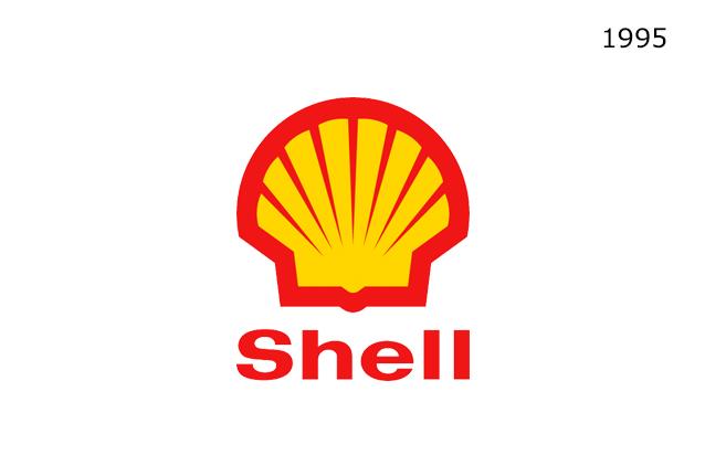 Shell Marasının 1995 Yılında Kullandığı Logo Tasarımı